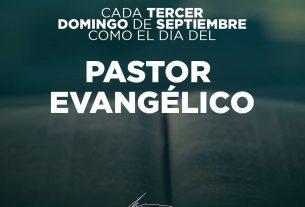 Feliz Día del Pastor Evangélico