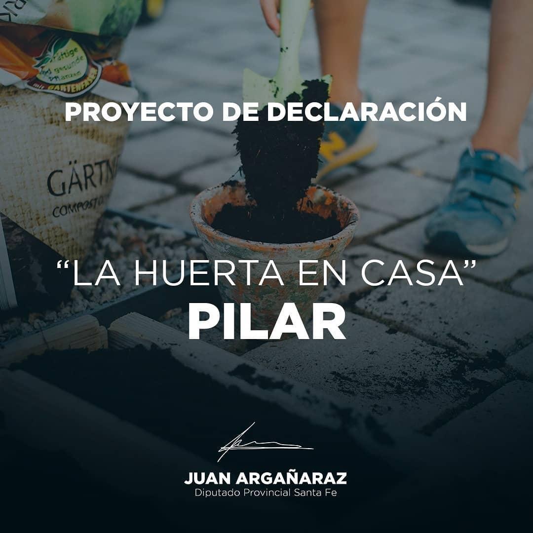 """LA HUERTA EN CASA"""" en Pilar"""