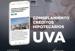 SE PROLONGA EL CONGELAMIENTO DE LOS CRÉDITOS HIPOTECARIOS