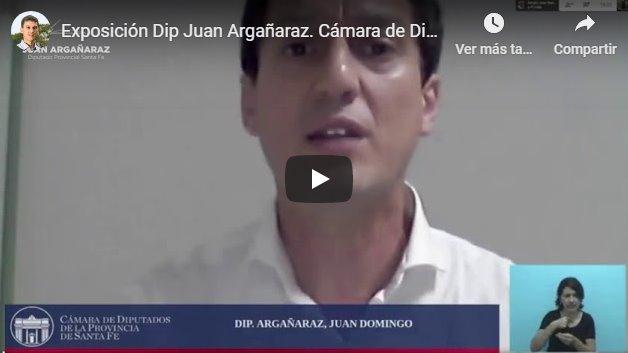 Exposición Dip Juan Argañaraz. Cámara De Diputados De Santa Fe LEY DE ESI (Con Ideología De Género)