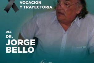 GRACIAS Dr. JORGE BELLO