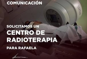 Rafaela espera su Centro de Radioterapia