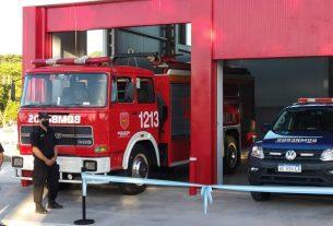 NUEVO DESTACAMENTO DE BOMBEROS ZAPADORES Y SERVICIOS DE EMERGENCIA SIES107 en el PAER RAFAELA