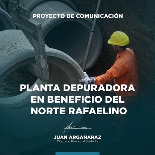 Planta depuradora de efluentes para los barrios del Norte de la ciudad de Rafaela
