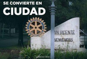 Se declara ciudad a la localidad de San Vicente