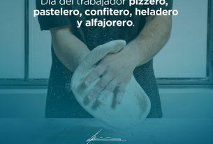 Día del trabajador pizzero, pastelero, confitero, heladero y alfajorero